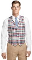 Brooks Brothers Madras Linen Vest