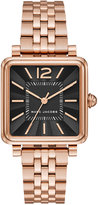 Marc by Marc Jacobs Women's Vic Rose Gold-Tone Stainless Steel Bracelet Watch 30mmx30mm MJ3517