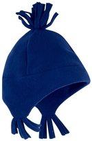 Jo-Jo JoJo Maman Bebe Polarfleece Pixie Hat (Baby) - Navy-0-12 Months