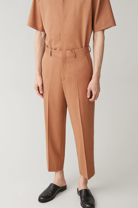 Cos Lightweight Wool Trousers