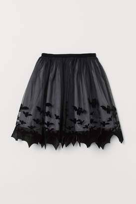 H&M Patterned tulle skirt