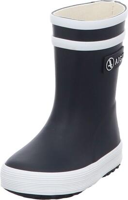 Aigle Eagle Baby Flac Mixed Rain Boots Child - Blue (Navy New) 4 Child UK (21 EU)