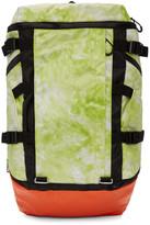 Adidas X Kolor Yellow and Orange Tie-dye Ops Backpack