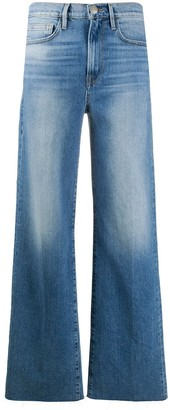 Frame Le California Heritage mid-rise wide-leg jeans