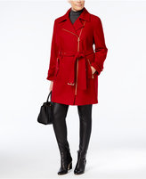 MICHAEL Michael Kors Size Asymmetrical Walker Coat