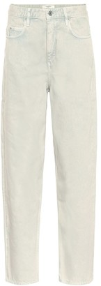 Etoile Isabel Marant Corsy mid-rise straight jeans