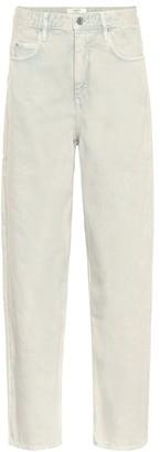 Etoile Isabel Marant Isabel Marant, étoile Corsy mid-rise straight jeans