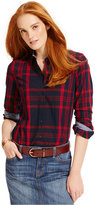 Tommy Hilfiger Plaid Button-Down Shirt, Only at Macy's