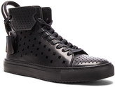 Buscemi 125MM Leather Holes Sneakers