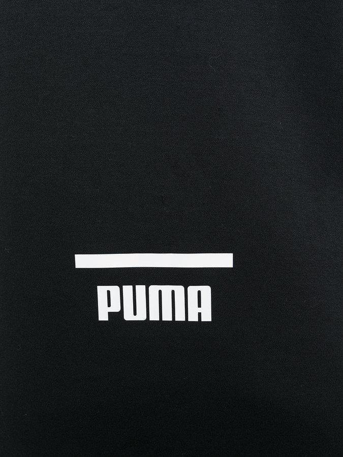 Puma logo stamp hoodie