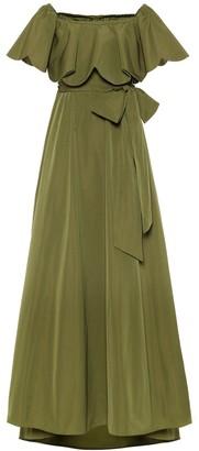 Valentino Micro-faille gown