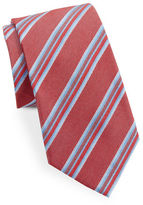 Vince Camuto Asymmetrical Striped Tie