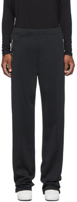 Random Identities Black Dressy Track Pants