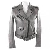 Michael Kors Metallic Leather Jackets