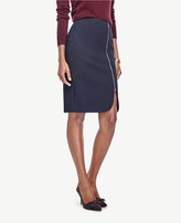 Ann Taylor Curvy Side Zip Pencil Skirt