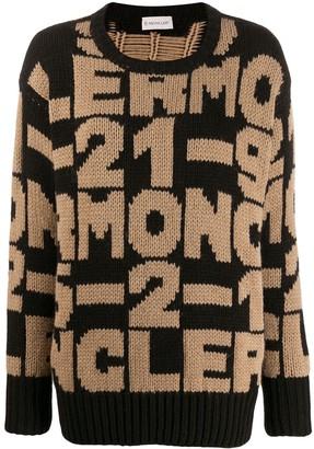 Moncler Intarsia-Knit Jumper