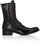 Buttero Men's Side-Zip Boots-BLACK