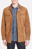 Men's Missani Le Collezioni Suede Shirt Jacket
