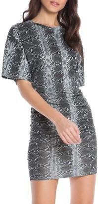 n:philanthropy Ranger Python Print T-Shirt Dress