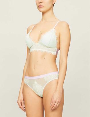 Dora Larsen Marlowe stretch-mesh padded bra