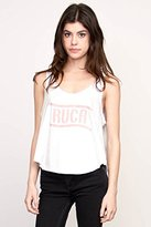 RVCA Juniors Flag Graphic Loose Fit Tank