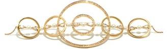 Anissa Kermiche Virtuose Diamond, Sapphire & 18kt Gold Choker - Yellow Gold