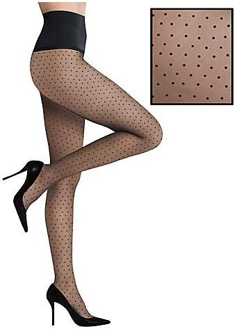 Commando Pin Dot Premier Sheer Pantyhose Panty Hose