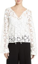 Elizabeth and James Women's Chantalle Lace Top