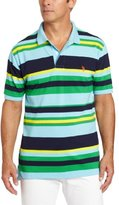 U.S. Polo Assn. Men's Multi-colored Striped Polo Shirt