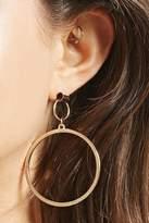 Forever 21 Mismatch Geo Drop Earrings