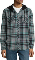 Zoo York Long Sleeve Plaid Button-Front Shirt