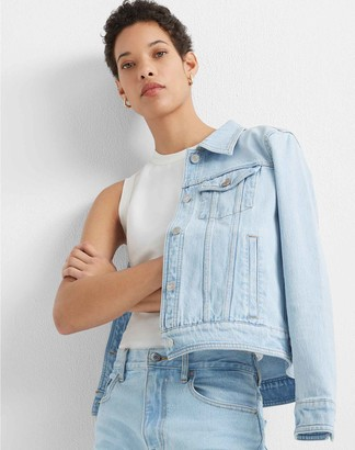 Club Monaco Denim Trucker Jacket