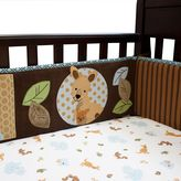 Lambs & Ivy animal antics crib sheet