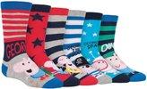 Peppa Pig 6 Pack Boys Girls Kids Colorful Funky Fun Cotton George Crew Socks