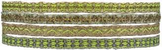 LeJu London Set of Four Bracelets in Bright Colors