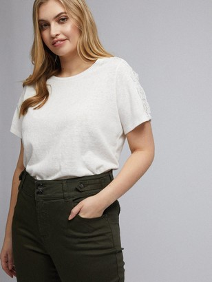 Dorothy Perkins Curve Darcy Skinny Jeans - Khaki