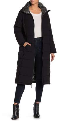 Vince Camuto Hooded Maxi Down Jacket