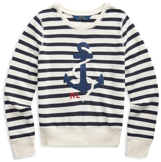 Ralph Lauren Anchor Terry Sweatshirt