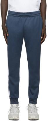 adidas Blue 3-Stripes Track Pants