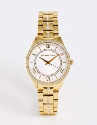 Michael Kors ladies lauryn watch MK3899-Gold