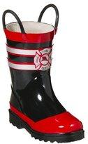 Kids' Upton Fireman Rain Boots - Red/ Black