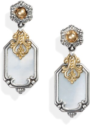 Konstantino Hestia Shield Drop Earrings