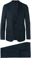 Lardini three-piece suit - men - Cotton/Cupro/Viscose/Wool - 56