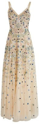 Needle & Thread Wildflower Sequin Gown