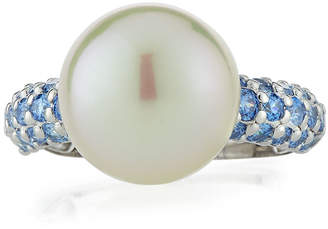 Majorica Pearly Cubic Zirconia Ring