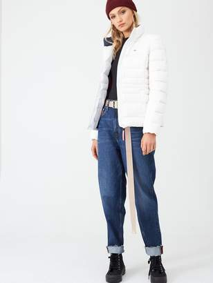 Tommy Jeans Modern Down Coat - White
