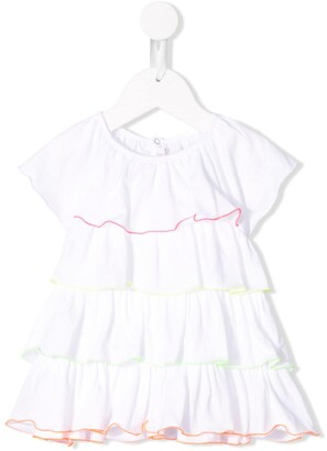 Il Gufo Ruffle Flared Top