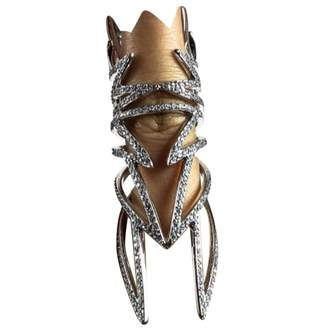 Eddie Borgo Silver Crystal Rings