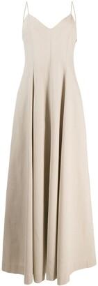 Ami V-Neck Maxi Dress