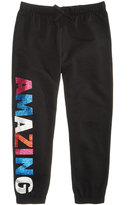 Epic Threads Hero Kids by Amazing Glitter Graphic Jogging Pants, Little Girls (4-6X), Created for Macy's